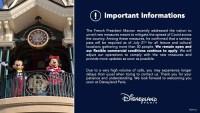 Disneyland Paris Sanitary Pass