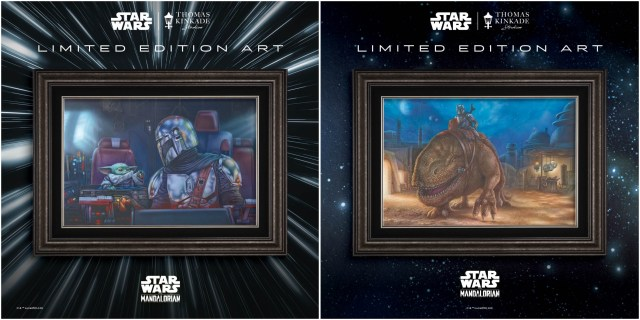 Thomas Kinkade Studios unveils two Limited Edition pieces from The Mandalorian™ Collection
