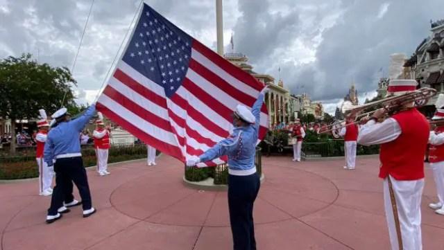 Flag Retreat Ceremonies return