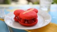 Mickey Raspberry Macarons