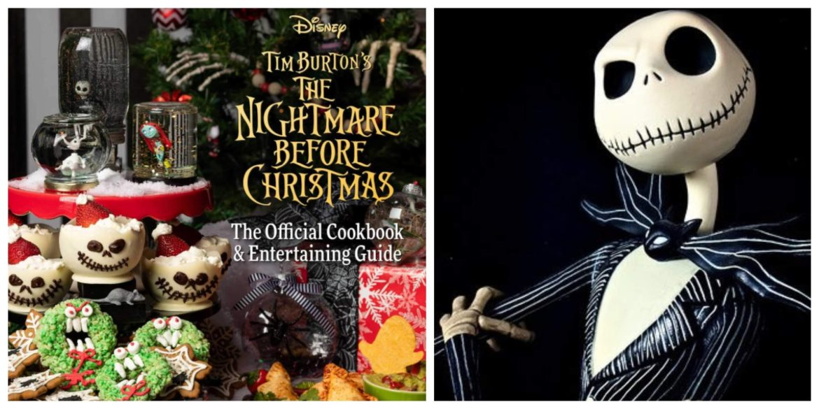 """Host The Best """"The Nightmare Before Christmas"""" Party With This Cookbook And Entertaining Guide!"""