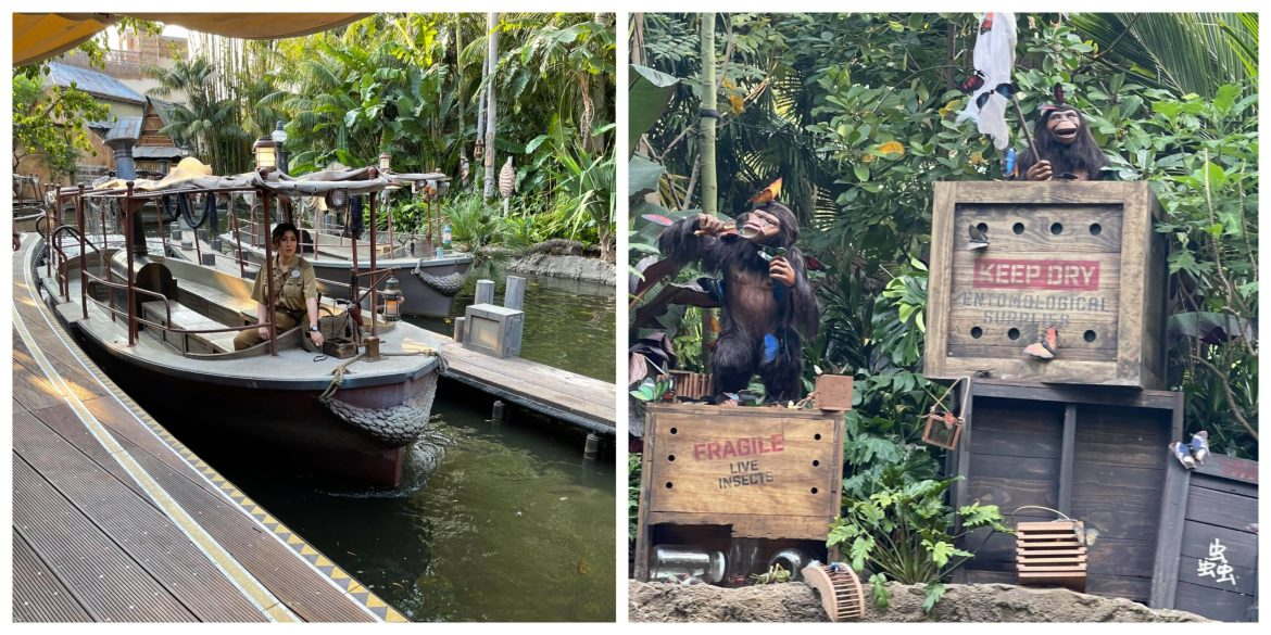 Take a voyage on the all new Jungle Cruise in Disneyland