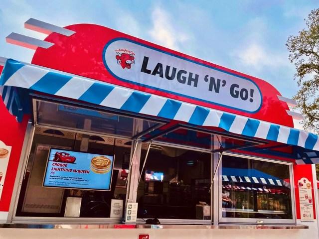 New Cars Laugh'n'Go Food Truck debuts at Disneyland Paris 2