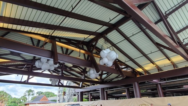 Photos: Disney's Polynesian Resort Monorail Platform Construction 4
