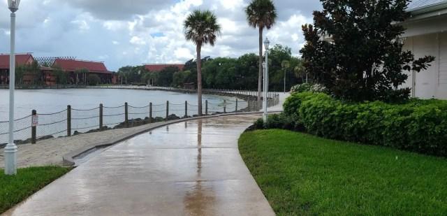 New walkway between Disney's Polynesian & Grand Floridian is now complete 2
