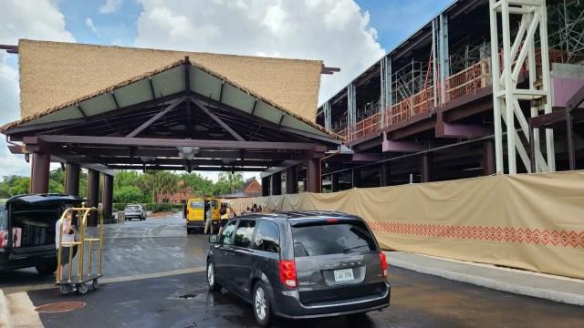 Photos: Disney's Polynesian Resort Monorail Platform Construction 3