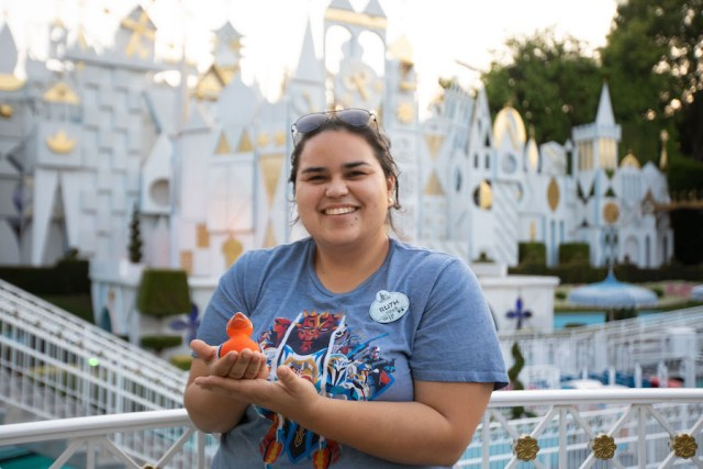 Cast Members Celebrated the Disneyland Anniversary with a rubber duck race 3