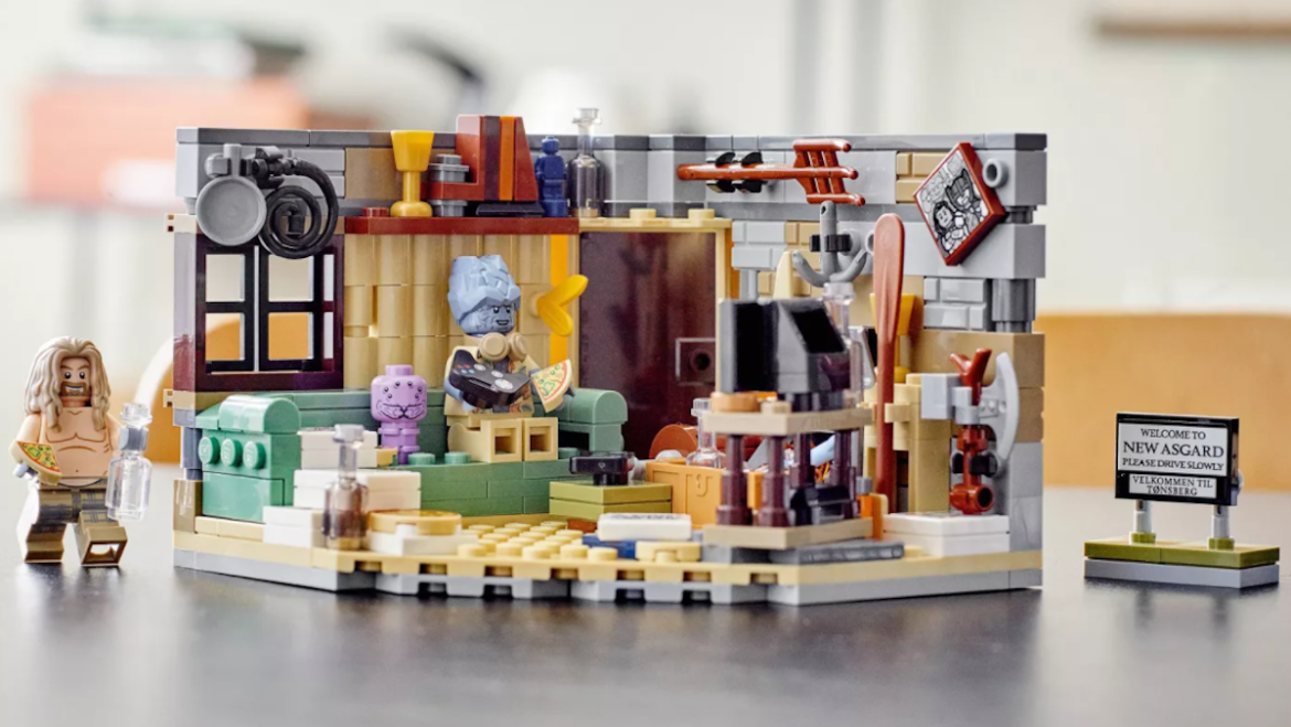 New Asgard LEGO Set from Avengers: Endgame Featured Thor, Korg and Miek