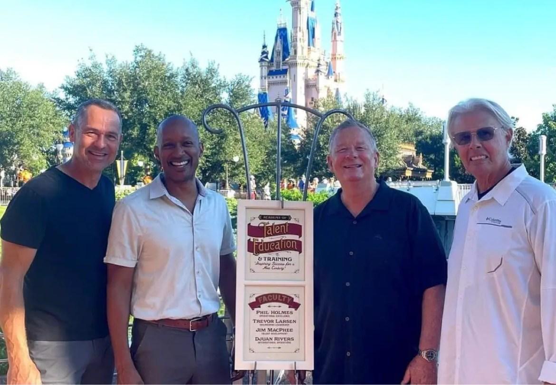 Former Walt Disney World executives honored with window on Main Street USA