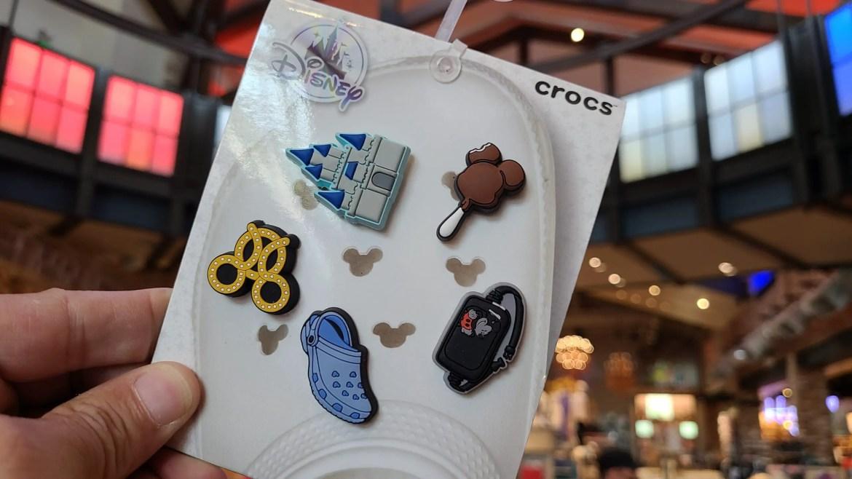 New Disney Crocs Jibbitz at Disney World