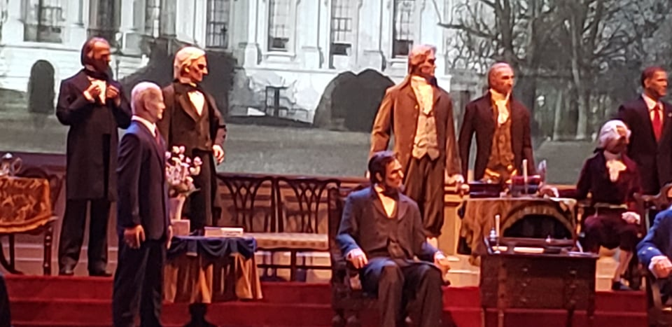 Hall of Presidents reopens with new Joe Biden Audio-Animatronic