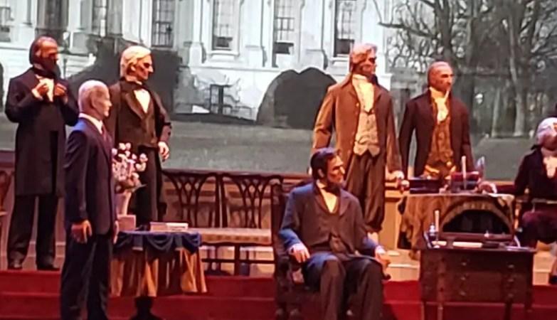 Hall of Presidents reopens with new Joe Biden Audio-Animatronic 2