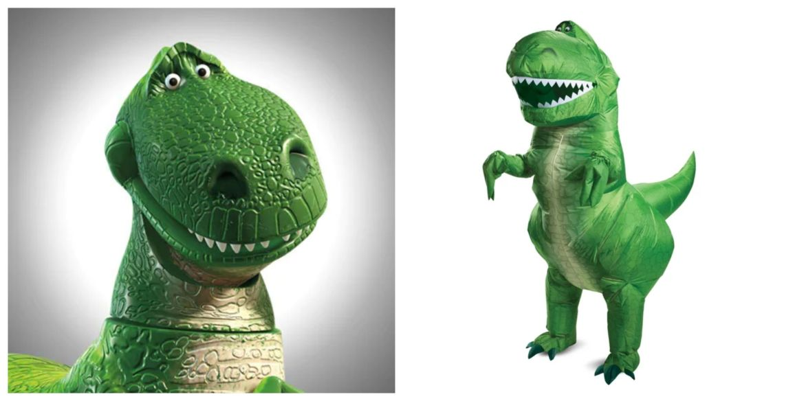 Disney Is Selling An Adult Size Rex Inflatable Halloween Costume