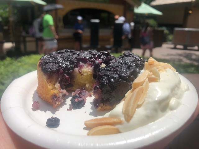Try the Blueberry and Almond Frangipane Tart From the Newly-Opened Alps Booth at EPCOT 3