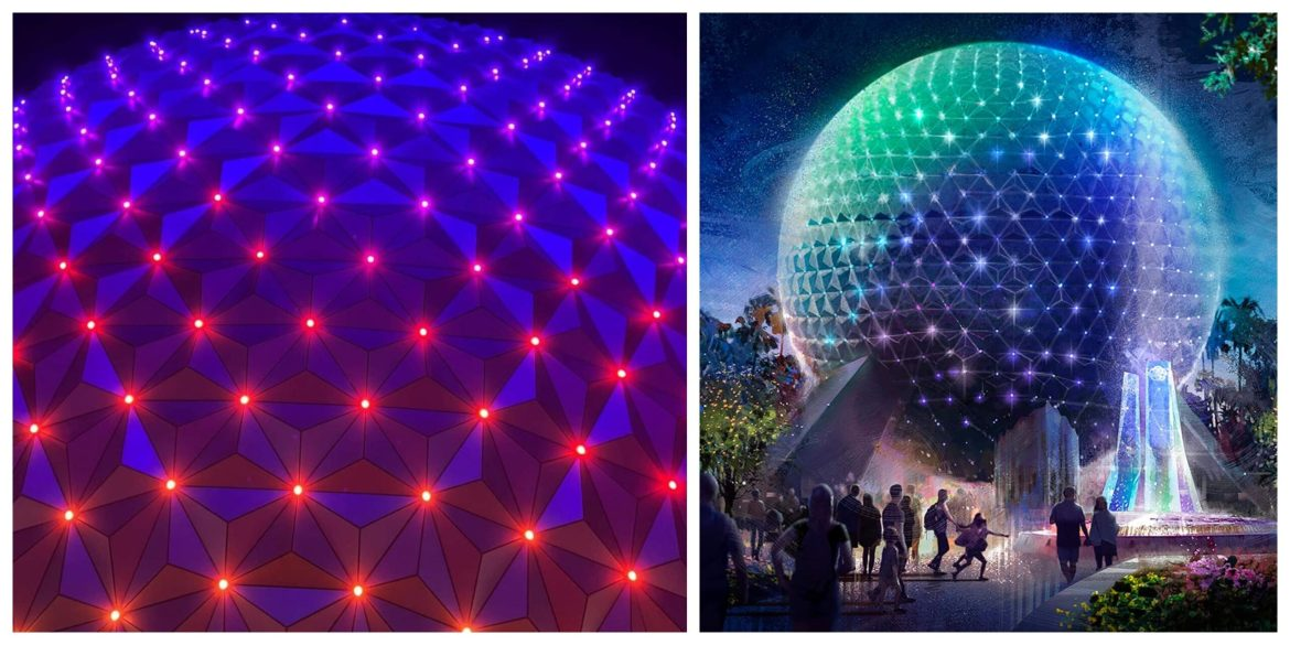 New Beacon of Magic lighting revealed for Spaceship Earth