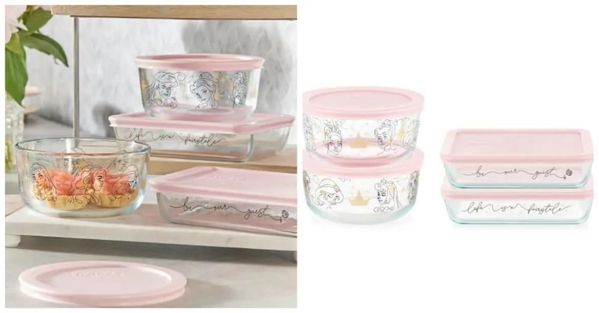 New Disney Princess Pyrex Storage Set