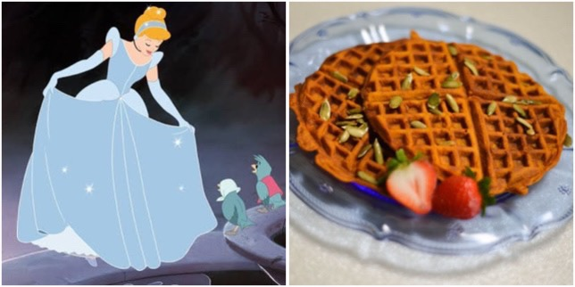 These Cinderella Pumpkin Waffles Are A Wish Your Heart Makes!