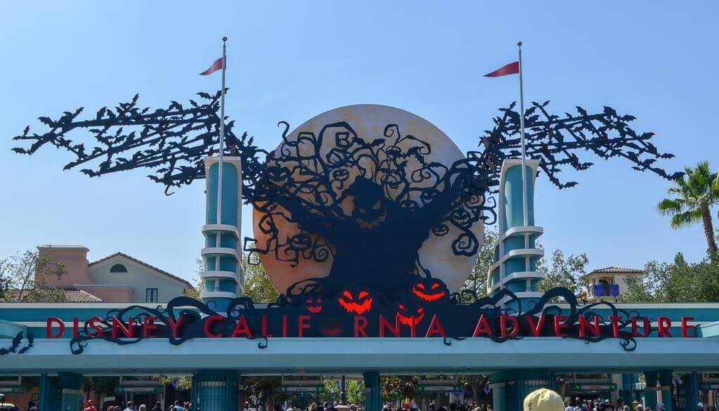 New Oogie Boogie entrance sign at Disney's California Adventure