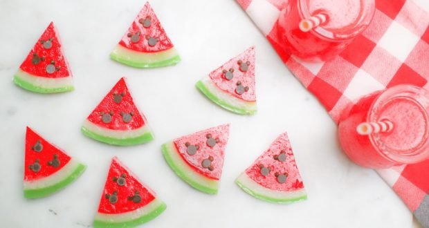 Sweet Mickey Mouse Watermelon Gummies To Enjoy This Summer!