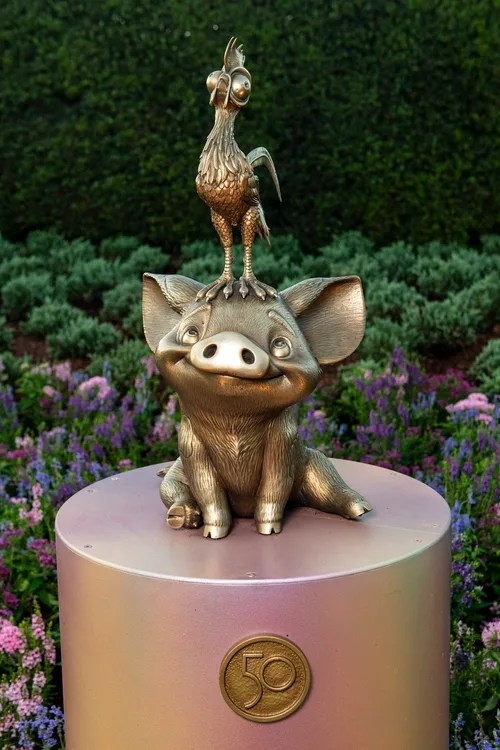 New Disney Fab 50 Statues debut in Epcot 9