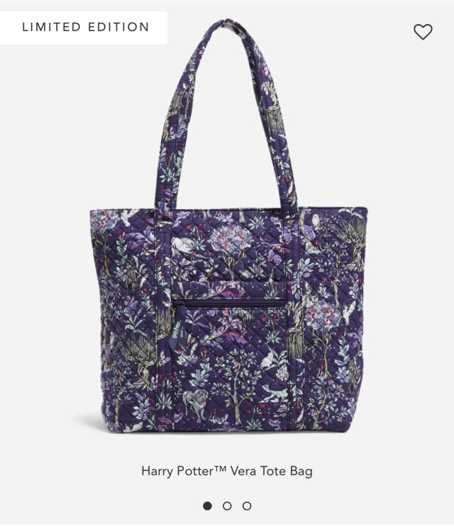 Vera Bradley + Harry Potter Launch New Forbidden Forest Collection! 4