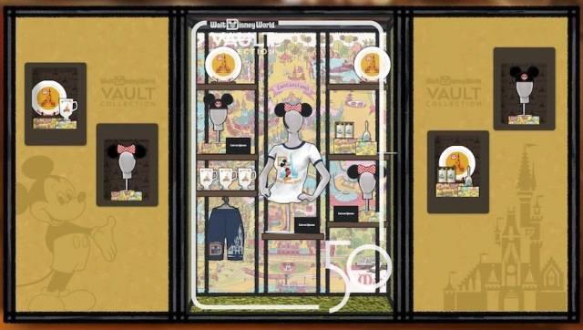 Sneak peek at the new Disney Vault Collection shopping experience coming to Disney World 3