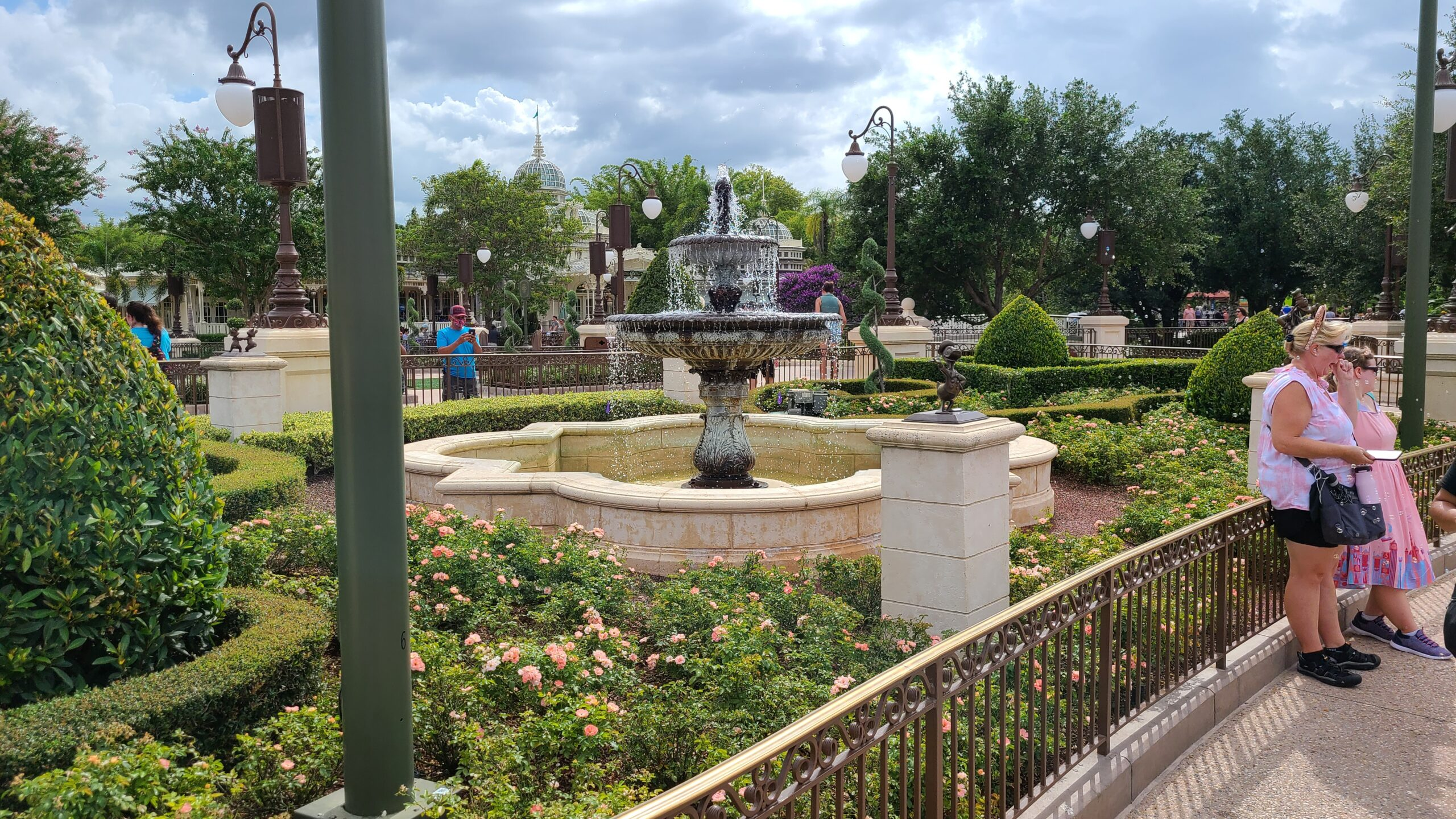 Bronze Character Statues Removed from the Hub in the Magic Kingdom 2