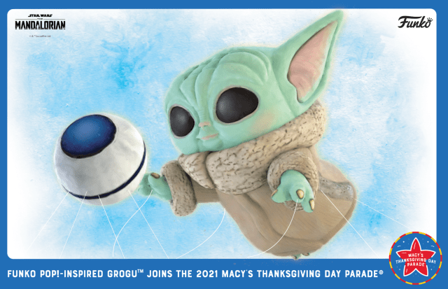 Baby Yoda is coming to Macy's Thanksgiving Day Parade! 2