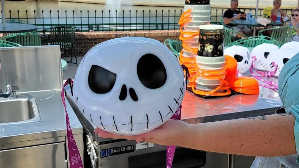 New Jack Skellington Popcorn Bucket At Magic Kingdom