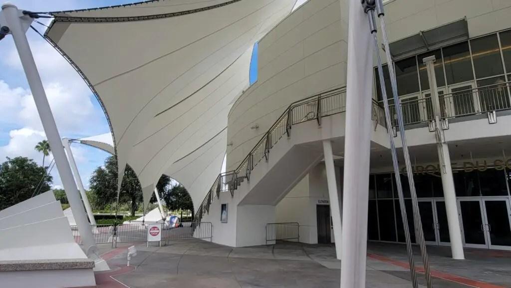Walls are down around Cirque Du Soleil in Disney Springs 2