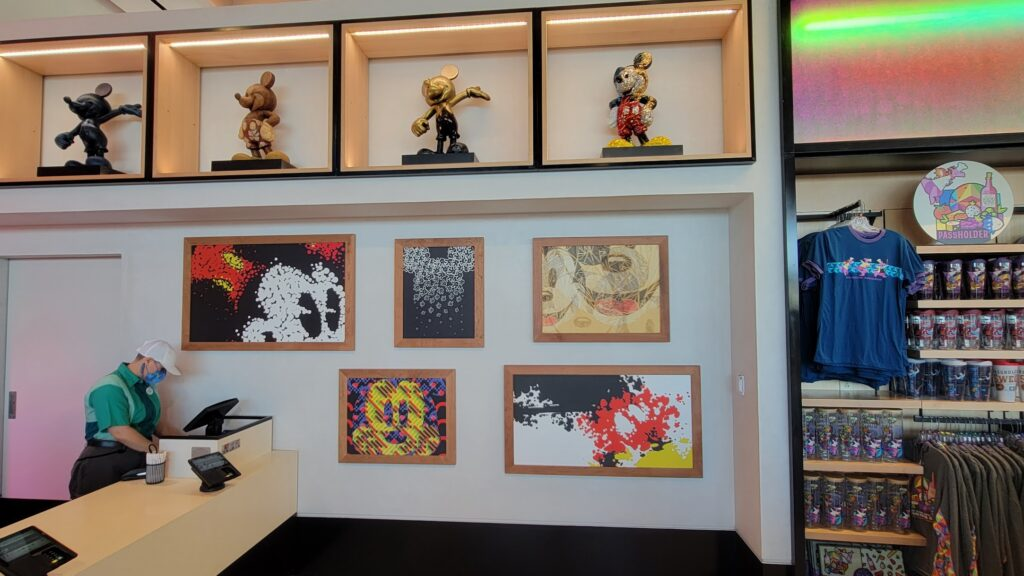 Look inside the new Creations Shop in Epcot 14