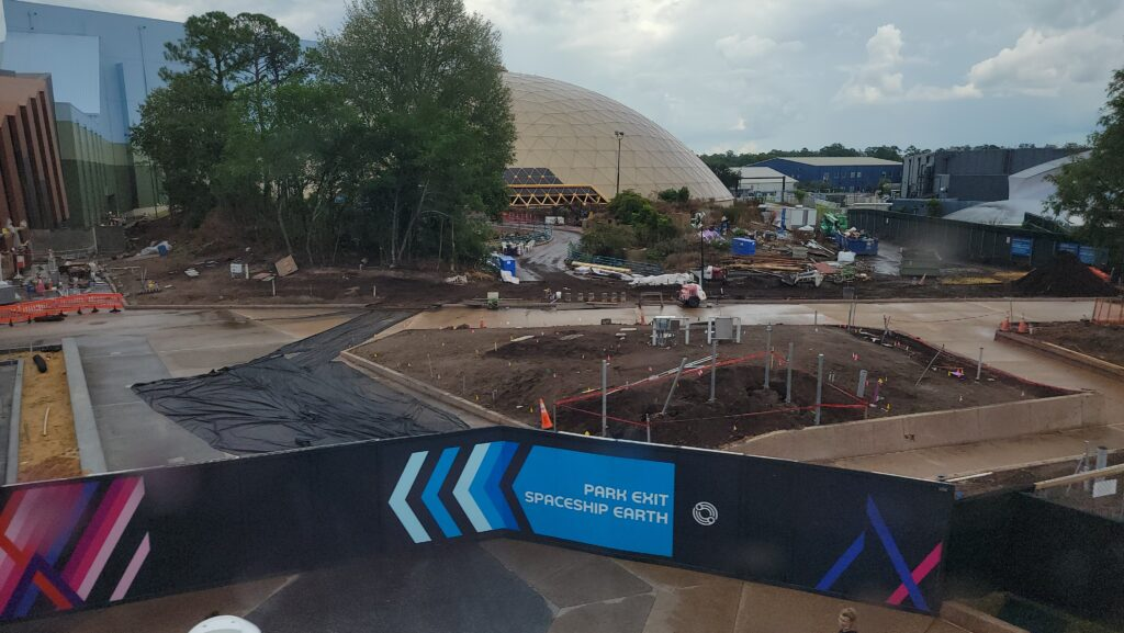 New Construction Photos of Moana Journey of Water & Guardians of the Galaxy: Cosmic Rewind 2