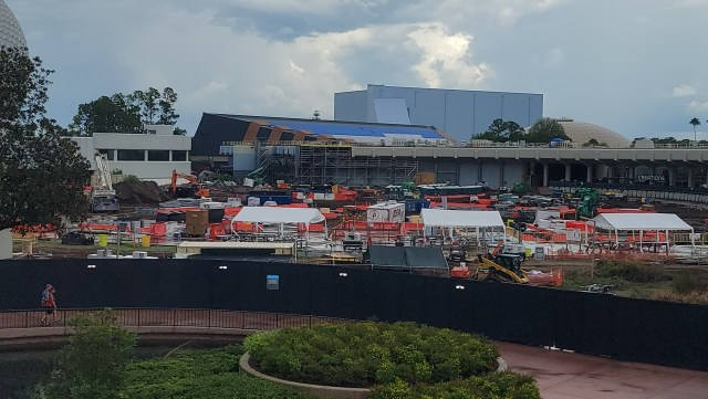 New Construction Photos of Moana Journey of Water & Guardians of the Galaxy: Cosmic Rewind 4