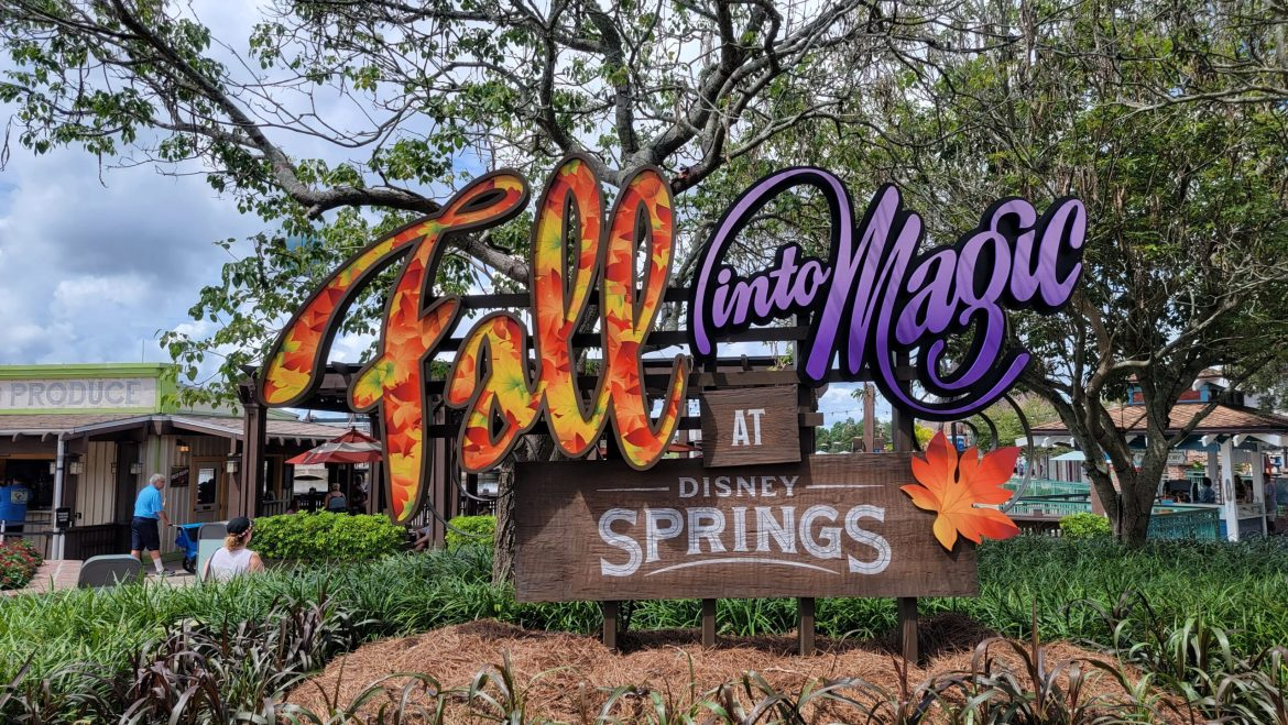 Fall Has Arrived at Disney Springs