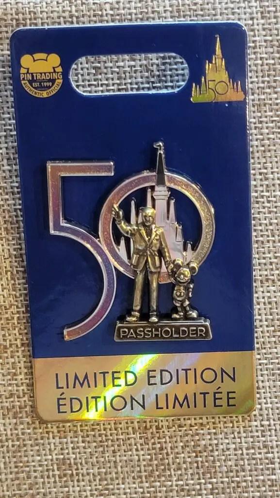 New 50th Anniversary Pins and AP Pins available at Disney Pin Traders 1