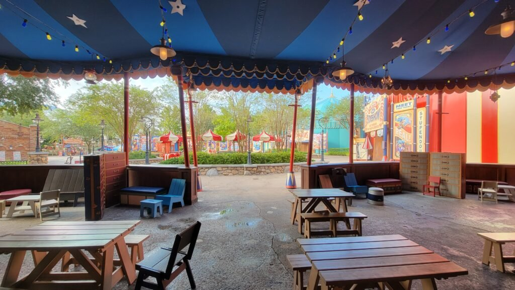 Storybook Circus tent refurbishment is now complete for 50th Anniversary 4