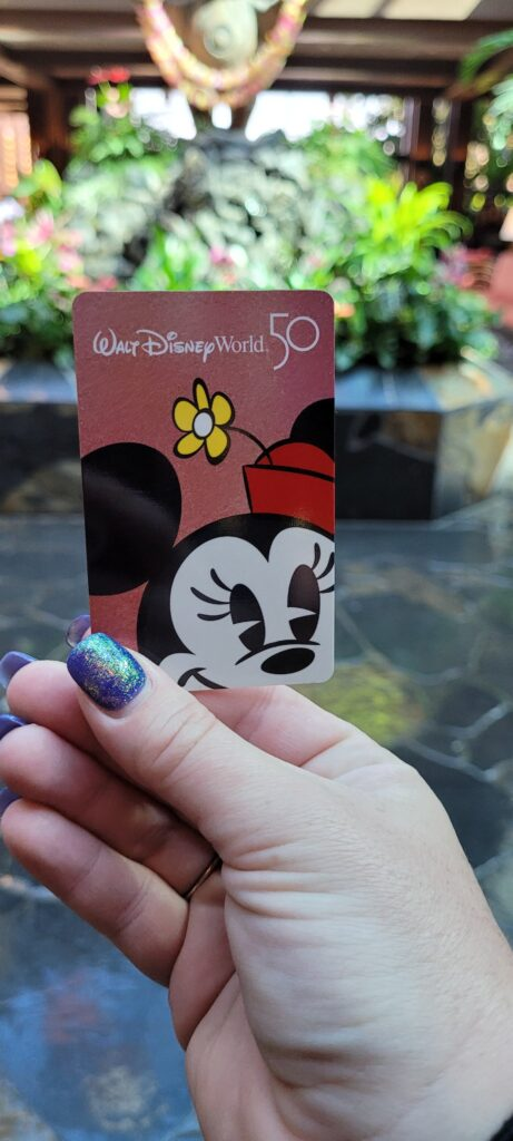 Disney World 50th Anniversary Room keys now available at select Disney Resorts 4