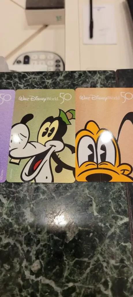 Disney World 50th Anniversary Room keys now available at select Disney Resorts 6