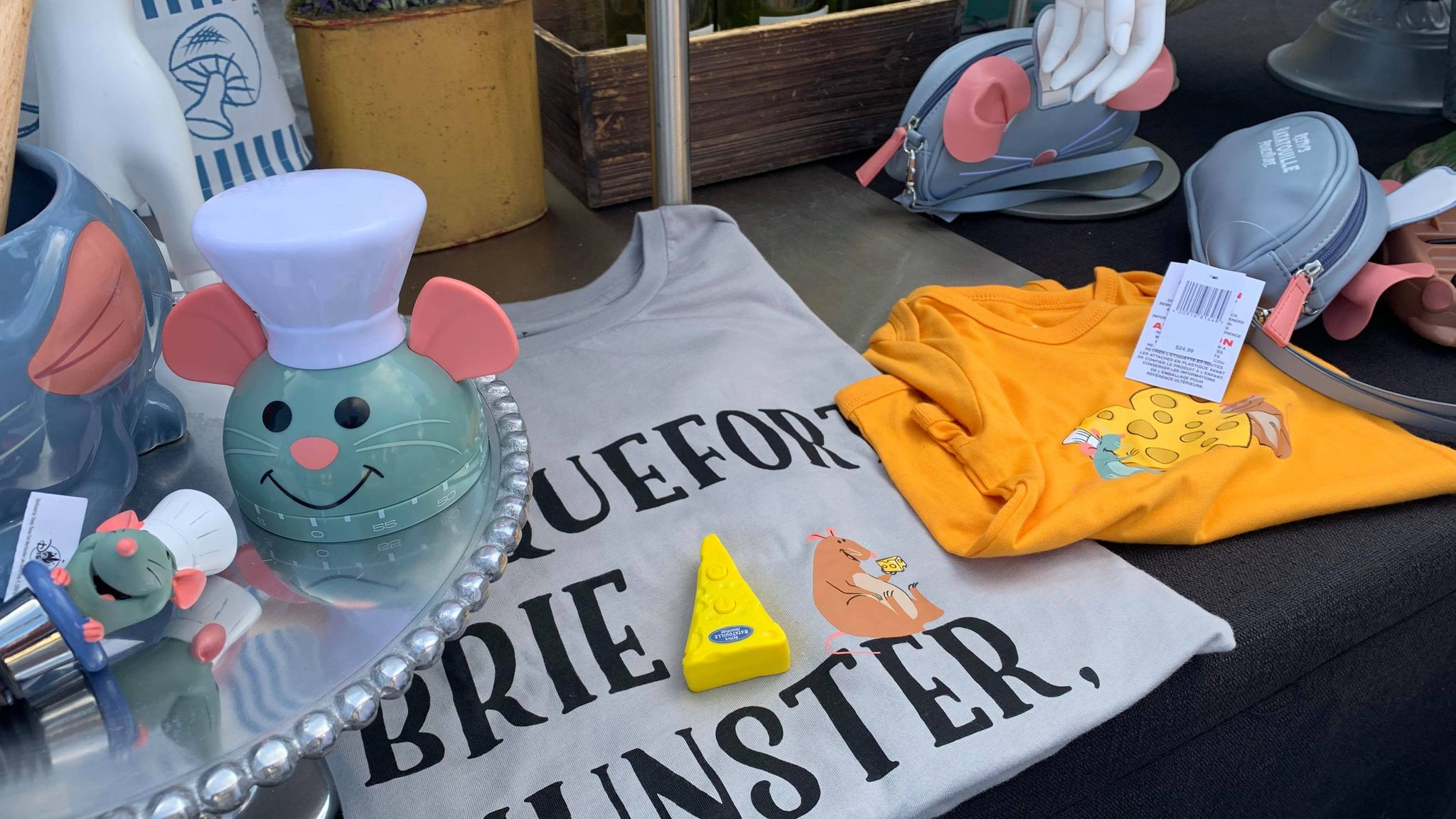 First look at the new Remy's Ratatouille Adventure line of merch coming soon! 17