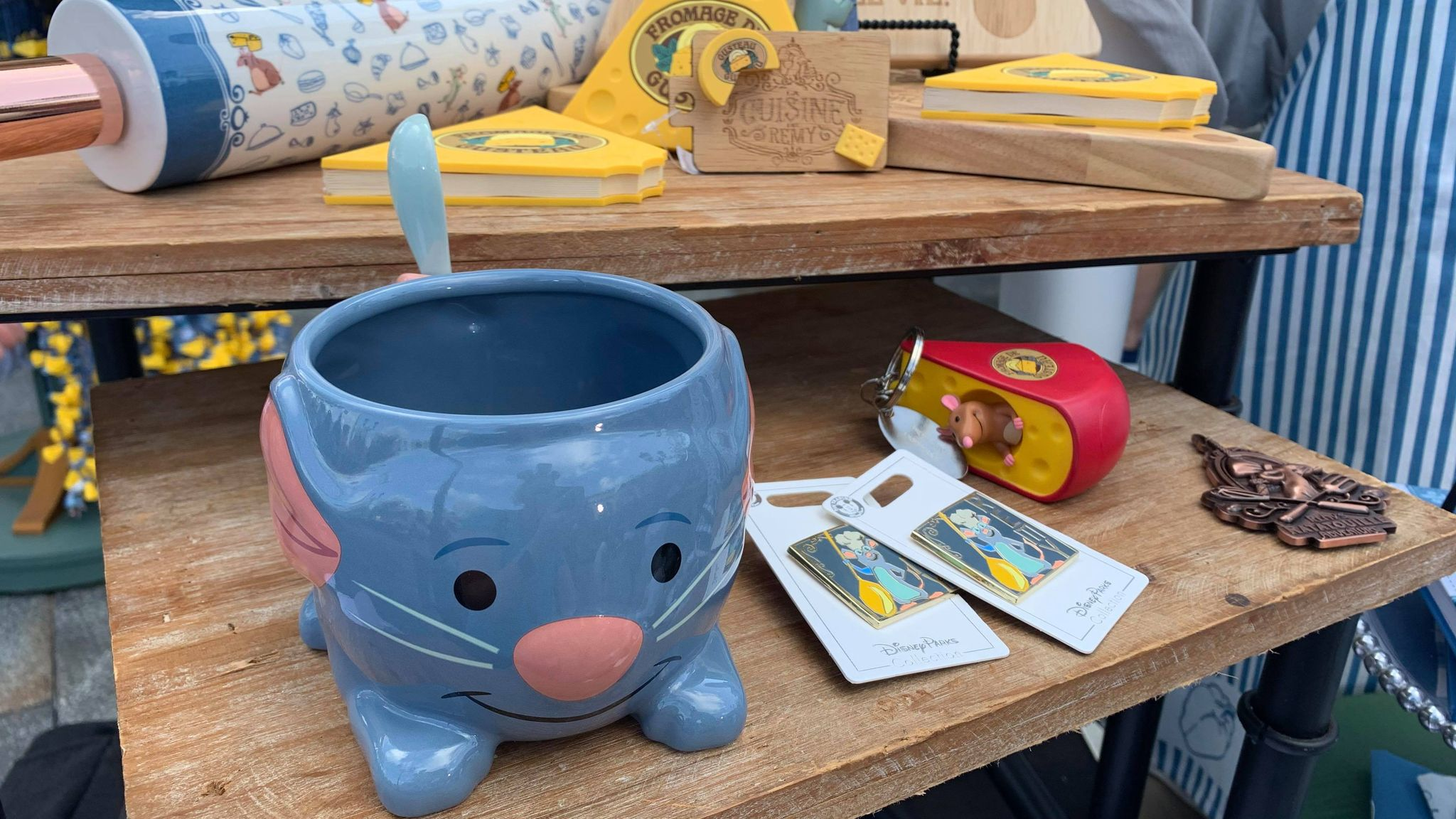 First look at the new Remy's Ratatouille Adventure line of merch coming soon! 7