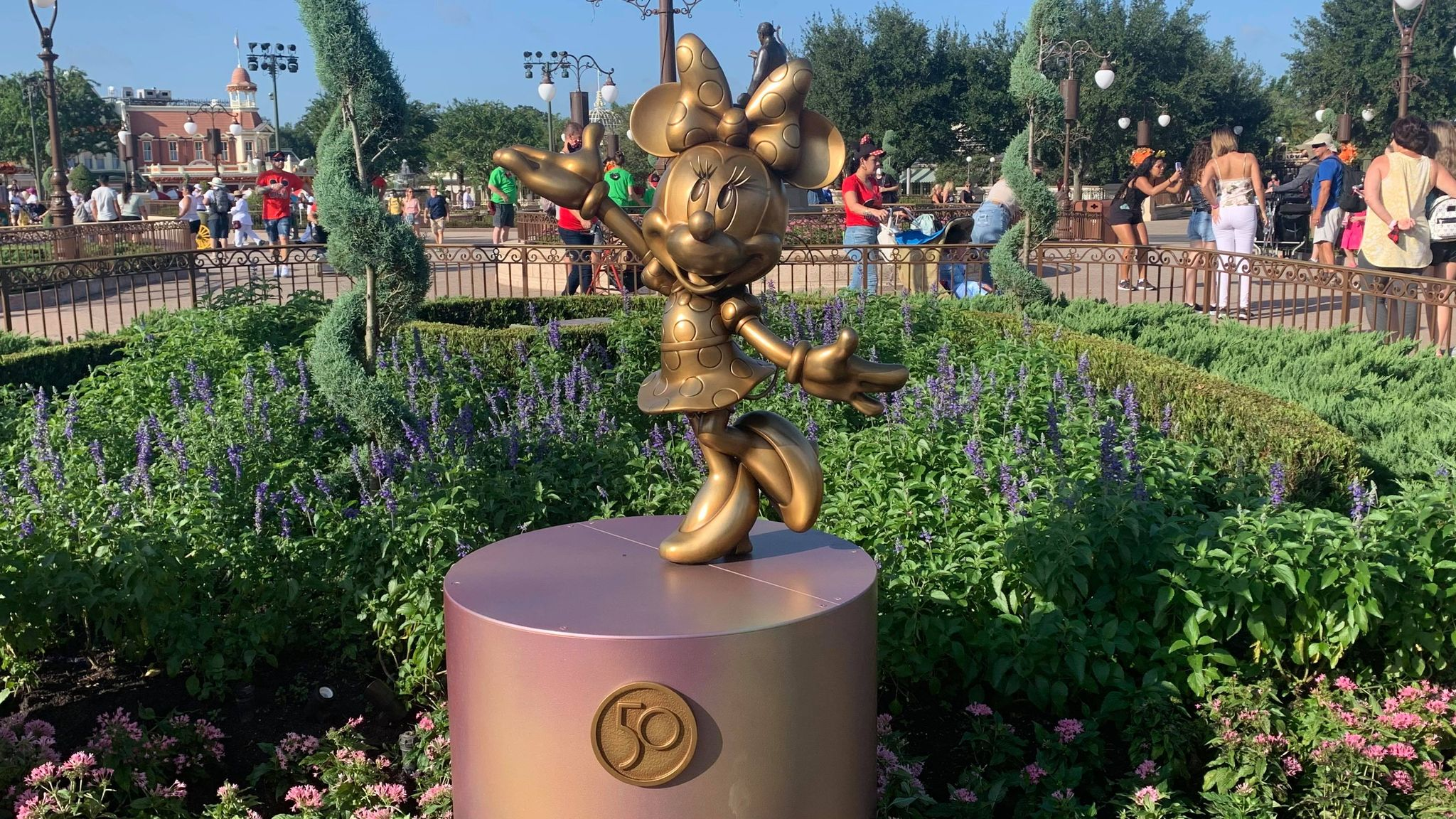 First Look: Disney Fab 50 statues now on display in the Magic Kingdom 23