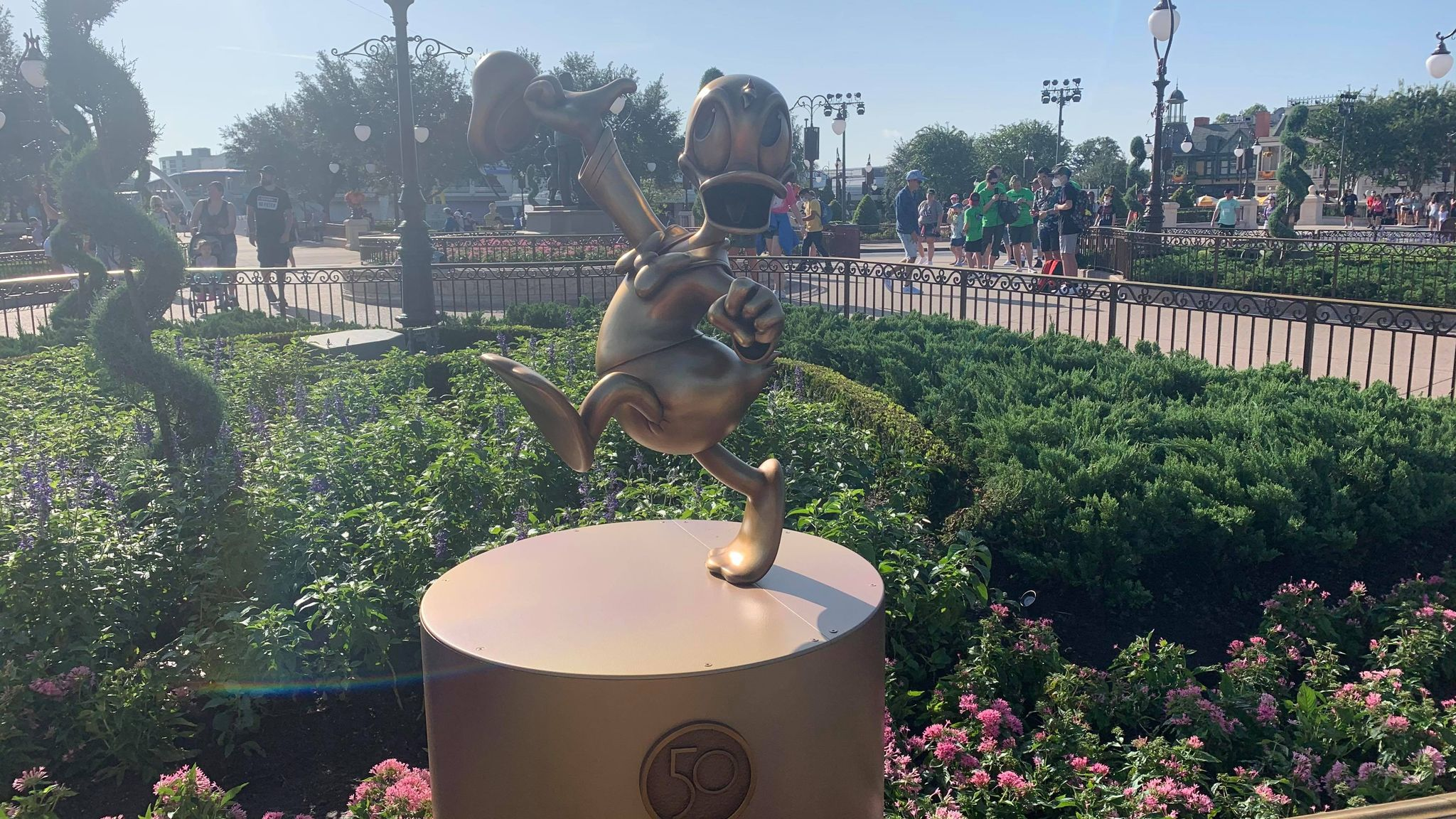 First Look: Disney Fab 50 statues now on display in the Magic Kingdom 17