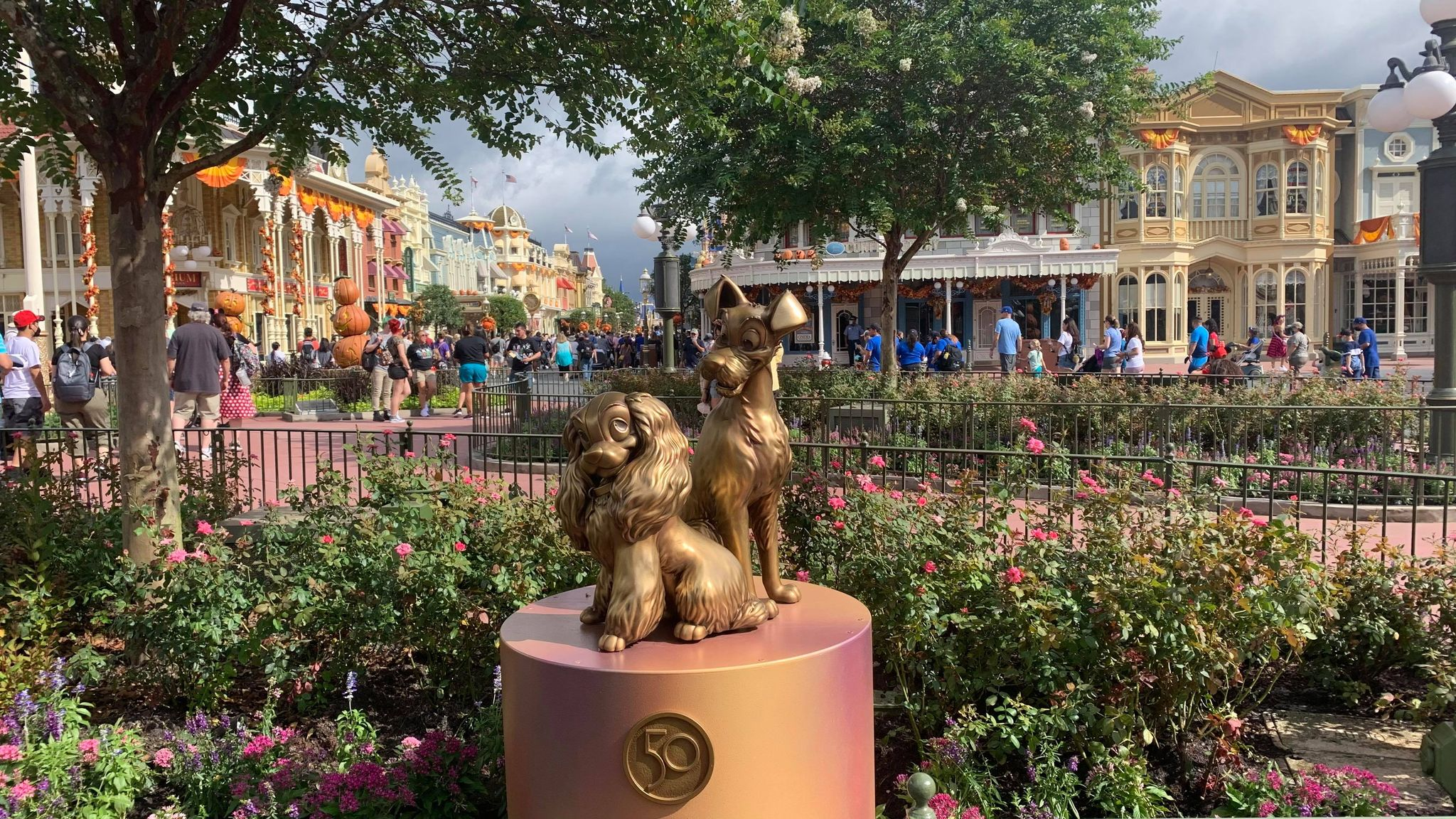 First Look: Disney Fab 50 statues now on display in the Magic Kingdom 27