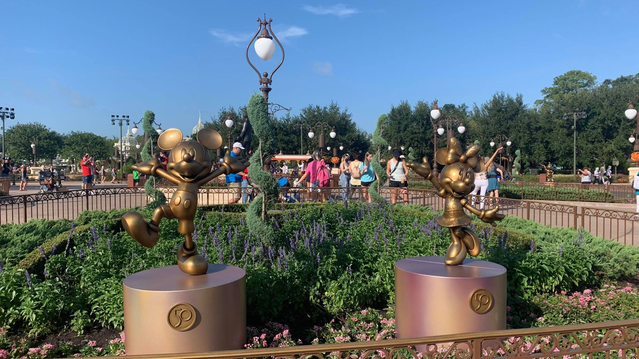 First Look: Disney Fab 50 statues now on display in the Magic Kingdom 25