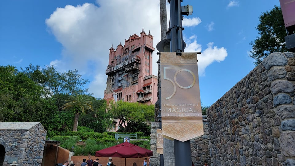 Disney World 50th Anniversary Banners Now Up at Hollywood Studios 5
