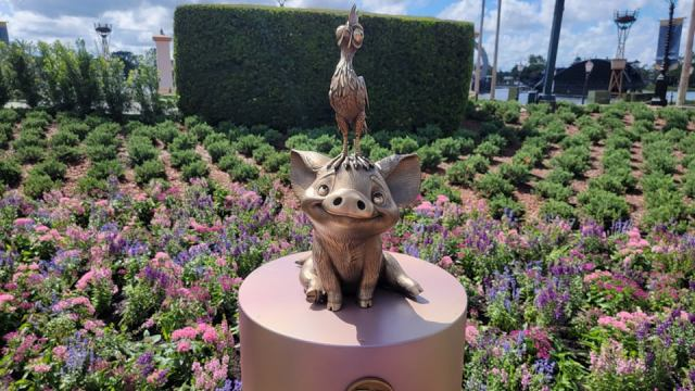 New Disney Fab 50 Statues debut in Epcot 3