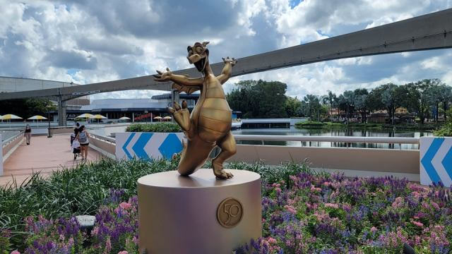New Disney Fab 50 Statues debut in Epcot 2