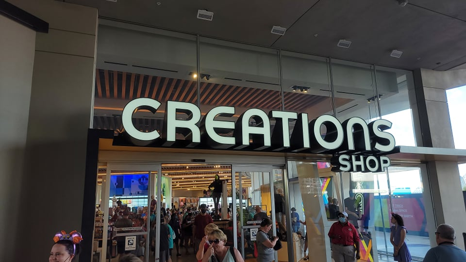 Look inside the new Creations Shop in Epcot 19