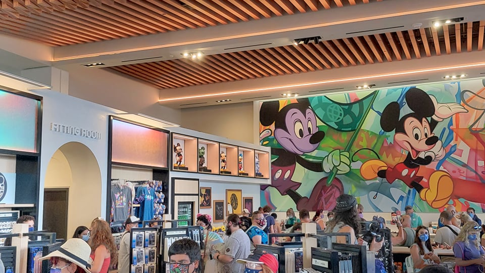 Look inside the new Creations Shop in Epcot 26