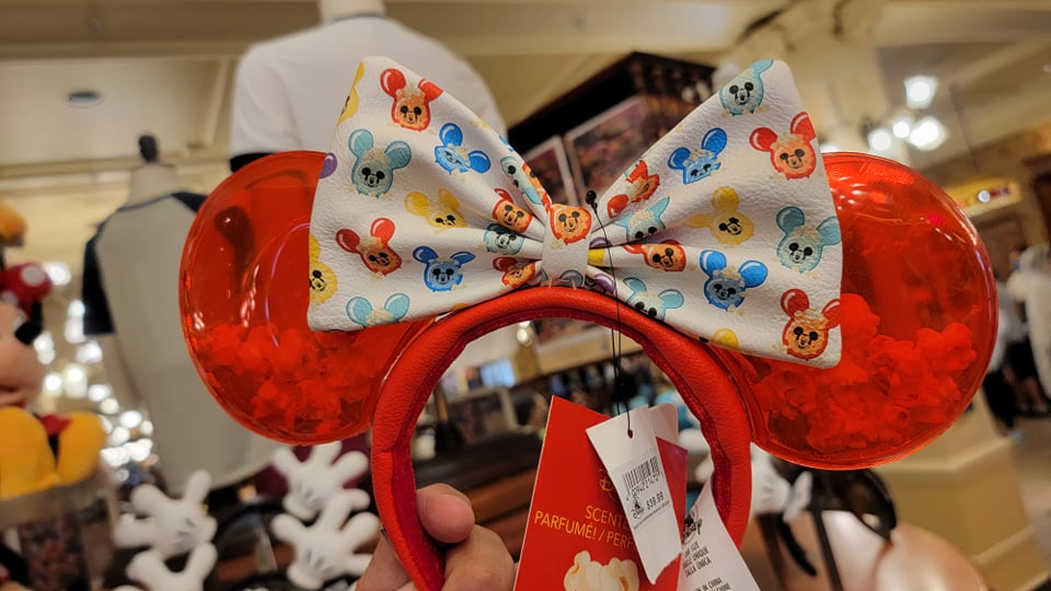 Exciting New Disney Popcorn Bucket Minnie Ears!